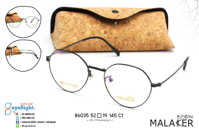 glasses MALAKER 86035 52[]19-145 C1